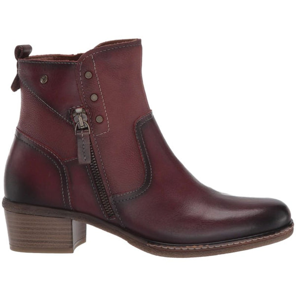Pikolinos Zaragoza Leather Womens Boots#color_arcilla