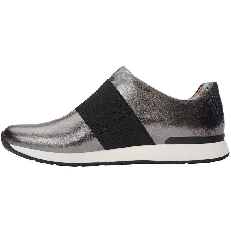 Vionic Codie Leather Textile Womens Trainers