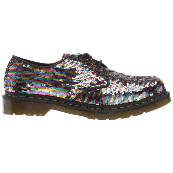 Dr.Martens 1461 Sequin Shift Sequins Synthetic Womens Shoes#color_rainbow