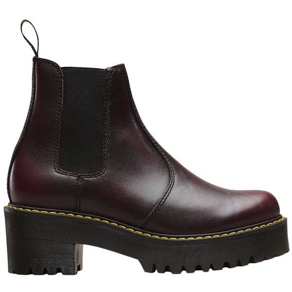 Dr.Martens Rometty Vintage Leather Womens Boots#color_burgundy