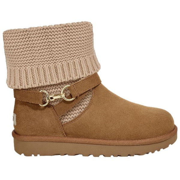 Ugg Australia Purl Strap Suede Womens Boots#color_chestnut