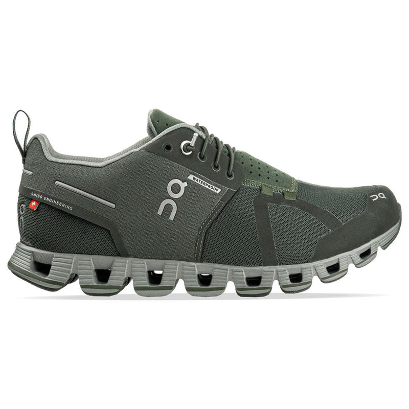 On Running Cloud Waterproof Textile Synthetic Mens Trainers