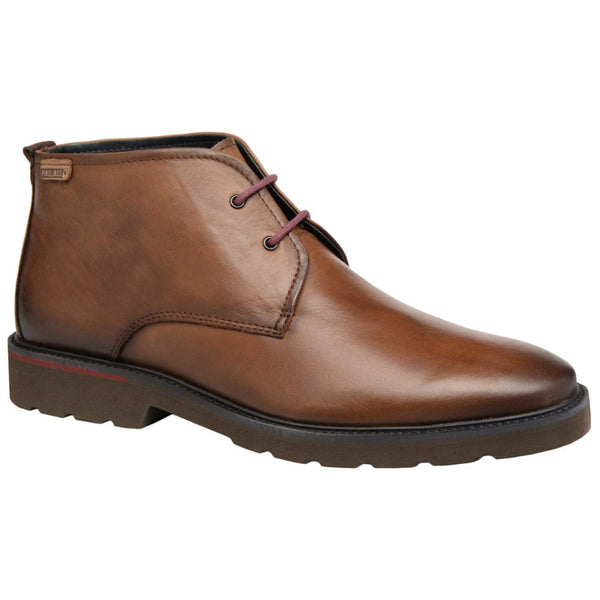 Pikolinos Salou Leather Mens Boots#color_cuero