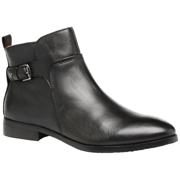 Pikolinos Royal Leather Womens Boots#color_black