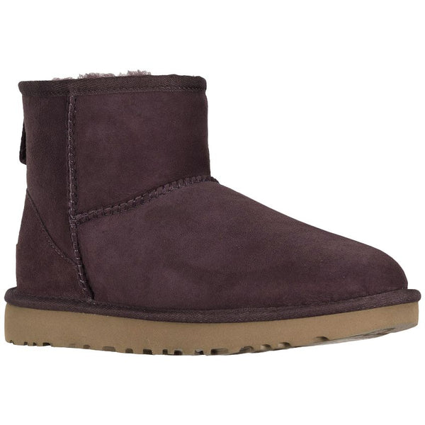 Ugg Australia Classic Mini II Suede Womens Boots#color_port