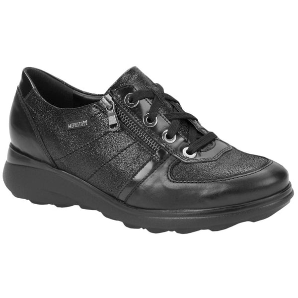 Mephisto Jill Leather Womens Shoes#color_black