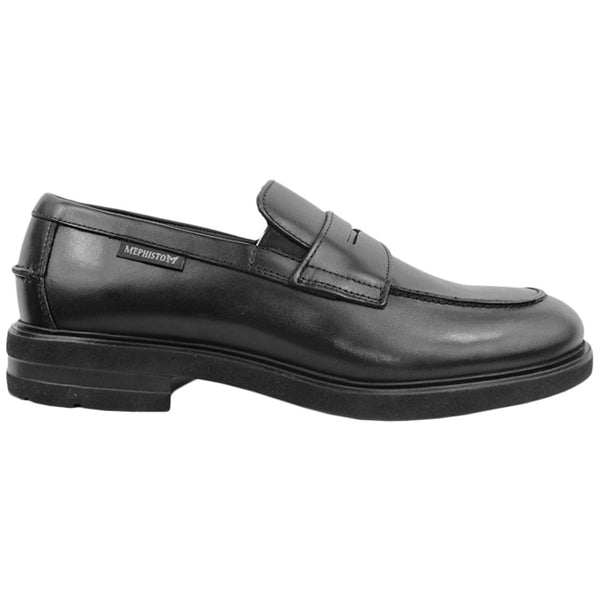Mephisto Orelien Leather Mens Shoes#color_black
