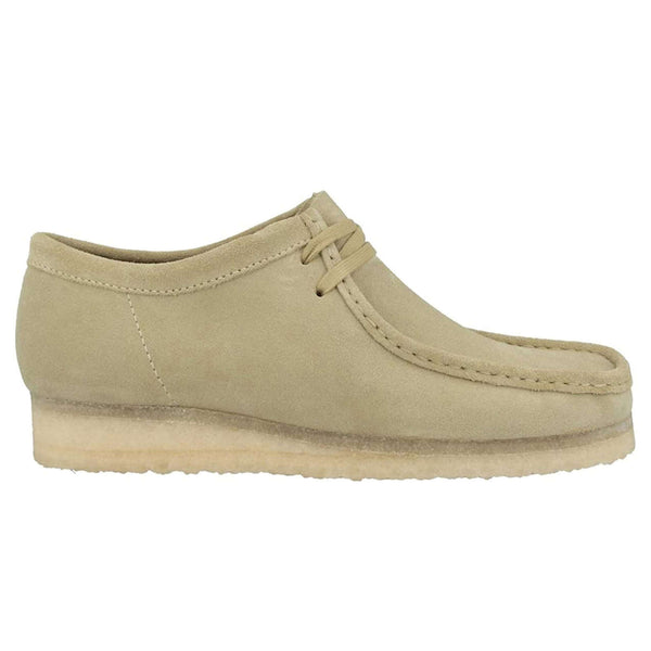 Clarks Originals Wallabee Suede Mens Shoes#color_maple