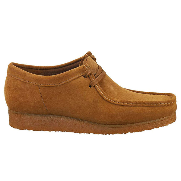 Clarks Originals Wallabee Suede Mens Shoes#color_cola