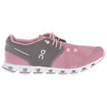 On Running Cloud Textile Synthetic Womens Trainers#color_charcoal rose