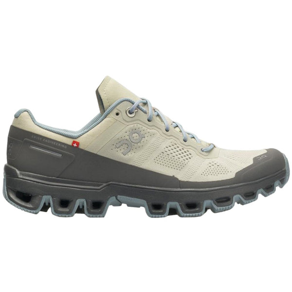 On Running Cloudventure Textile Synthetic Womens Trainers#color_sand wash