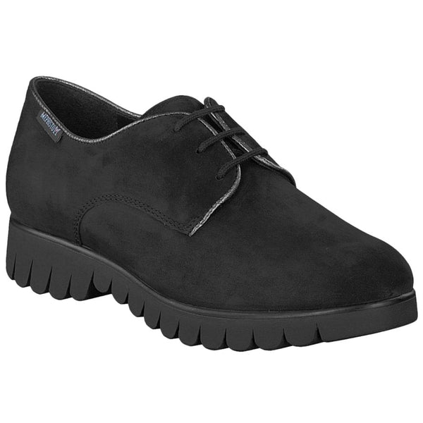 Mephisto Loreen Nubuck Womens Shoes#color_black