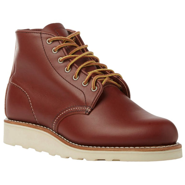Red Wing 6 Inch Round Leather Womens Boots#color_colorado