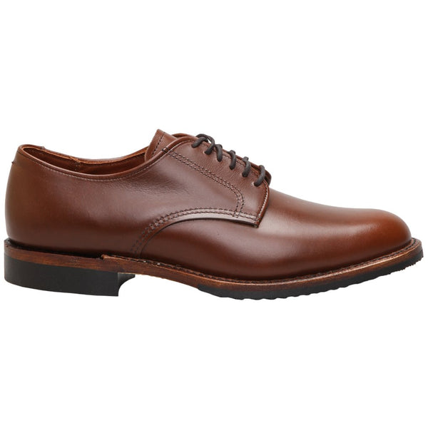 Red Wing Williston Oxford Leather Mens Shoes#color_teak