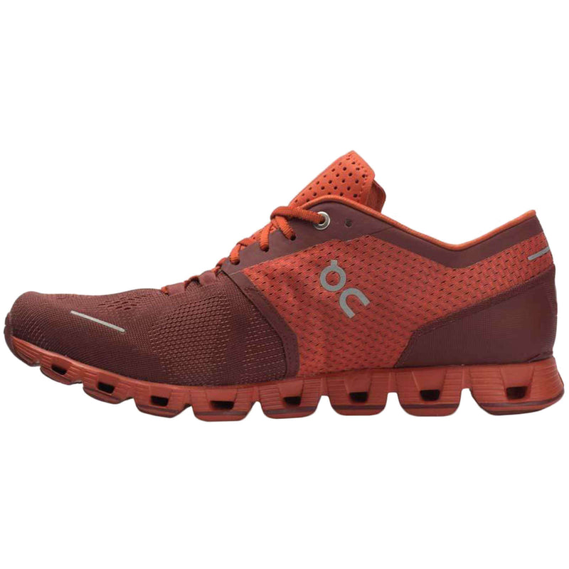 On Running Cloud X Textile Synthetic Mens Trainers