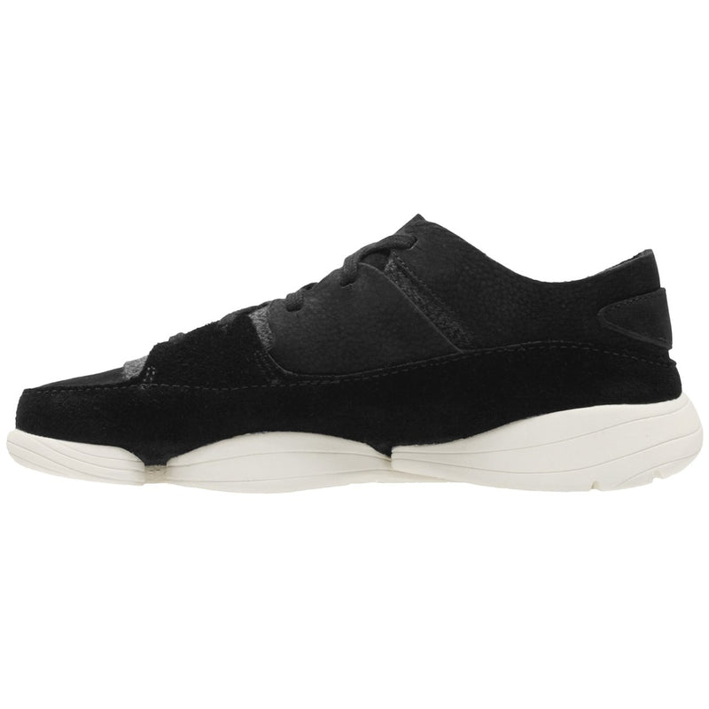 Clarks Originals Trigenic Evo Leather Textile Womens Trainers