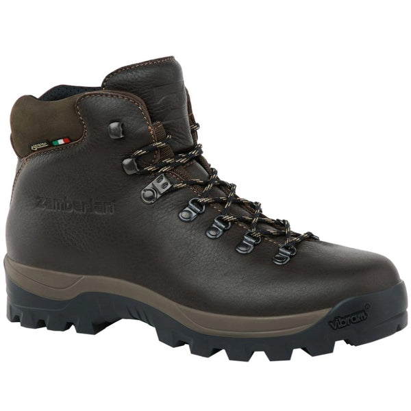 Zamberlan Sequoia GTX Leather Textile Mens Boots#color_hydrobloc brown