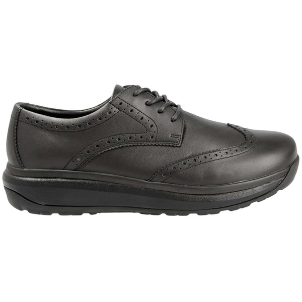 Joya Paso Fino II Leather  Mens Shoes#color_black