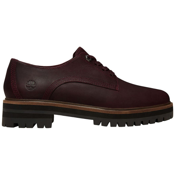 Timberland London Square Oxford Leather Womens Shoes#color_dark port