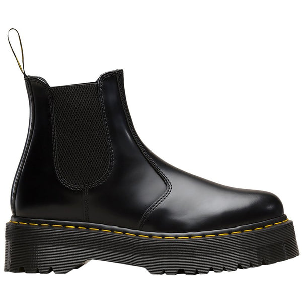 Dr.Martens 2976 Quad Polished Smooth Unisex Boots#color_black