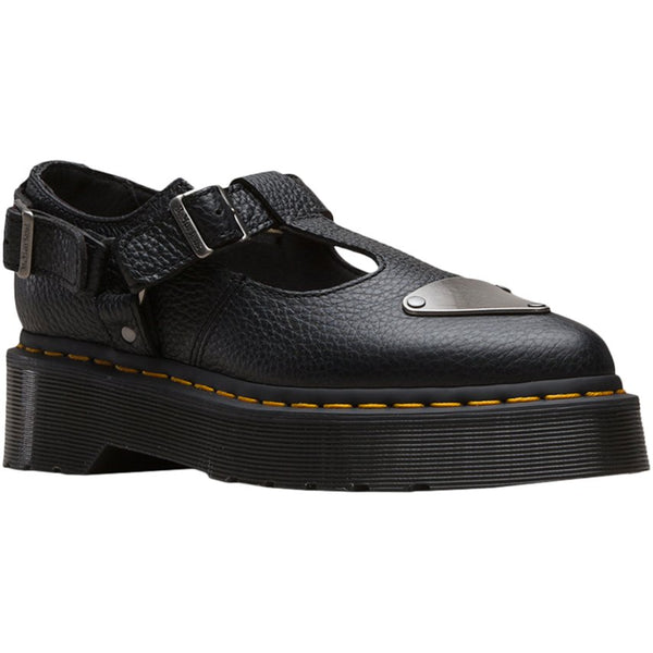 Dr.Martens Caidos Aunt Sally Leather Womens Shoes#color_black