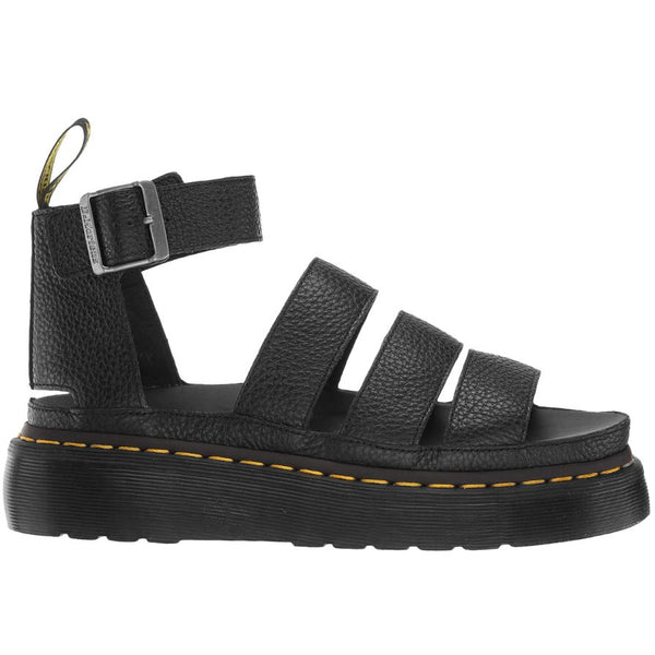Dr.Martens Clarissa II Quad Aunt Sally Leather Womens Sandals#color_black