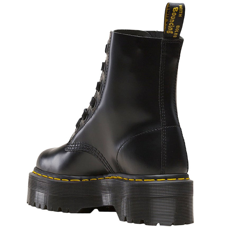 Dr.Martens Molly Buttero Leather Womens Boots