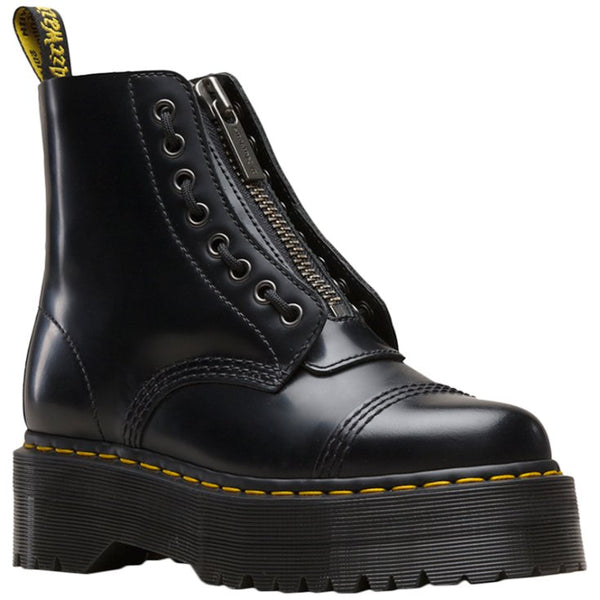 Dr.Martens Sinclair Polished Smooth Womens Boots#color_black
