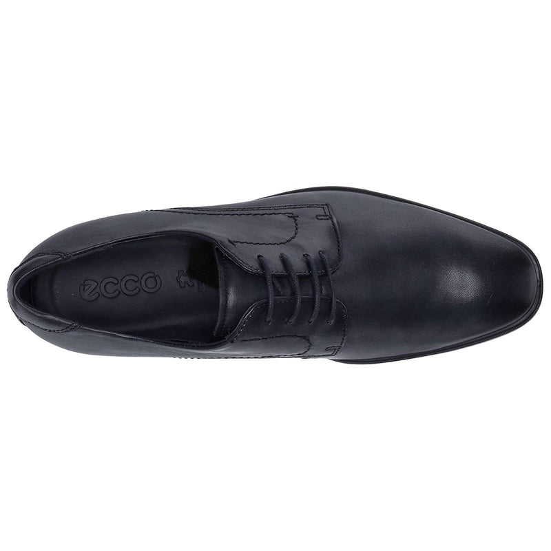 Ecco Melbourne Leather Mens Shoes