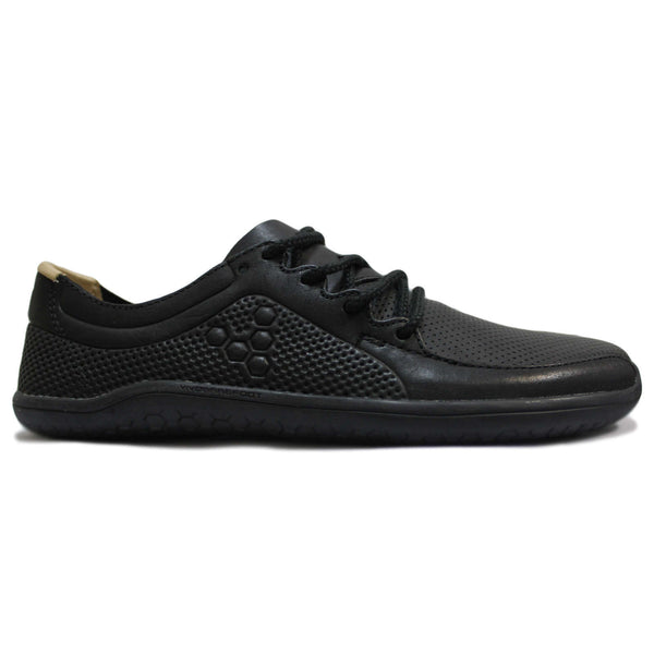 Vivobarefoot Primus Lux Leather Mens Trainers#color_black