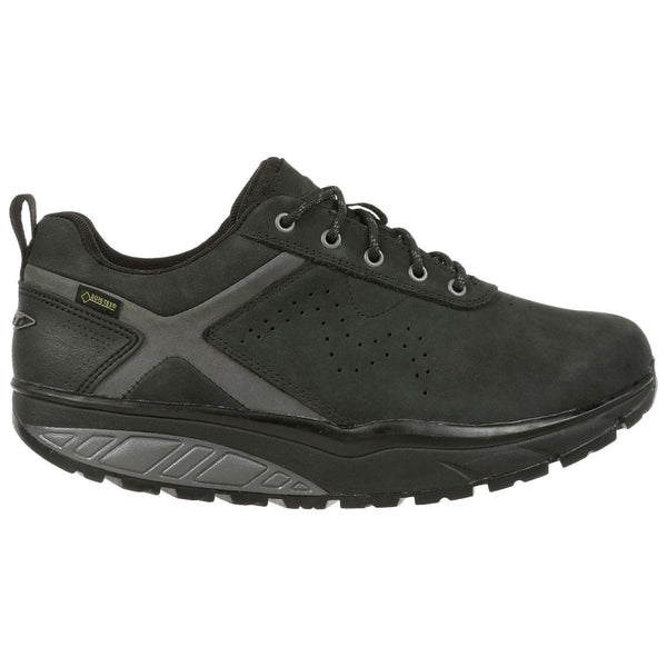 Mbt Kibo GTX Nubuck Mens Shoes#color_black