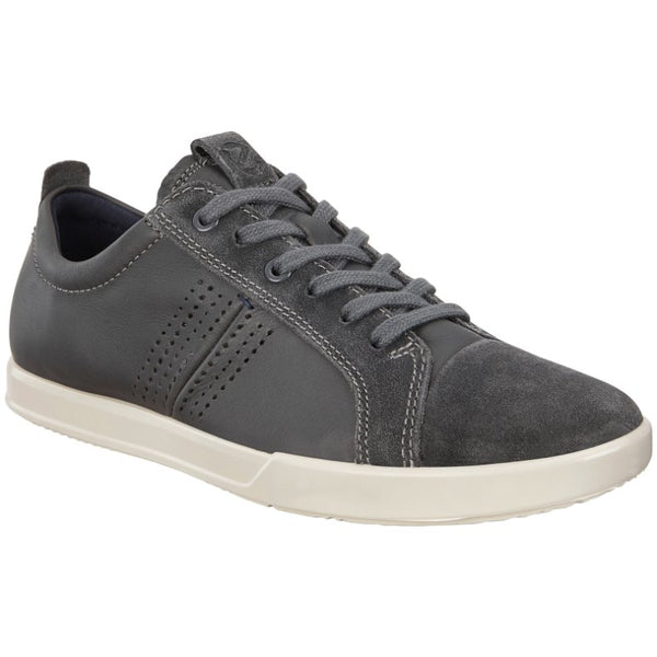 Ecco Collin 2.0 Leather Mens Trainers#color_magnet