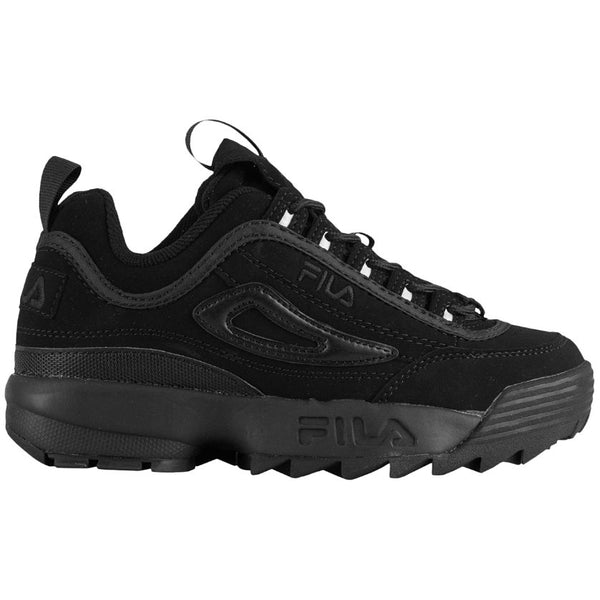 Fila Disruptor II Synthetic Youth Trainers#color_triple black