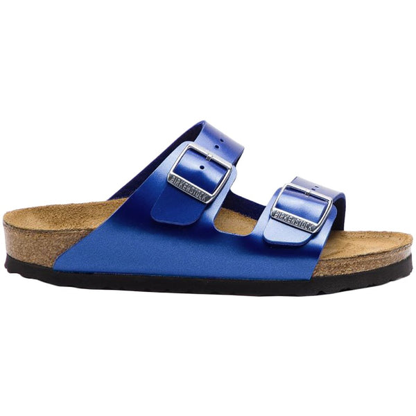 Birkenstock Arizona Electric Metallic Birko-Flor Unisex Sandals#color_ocean