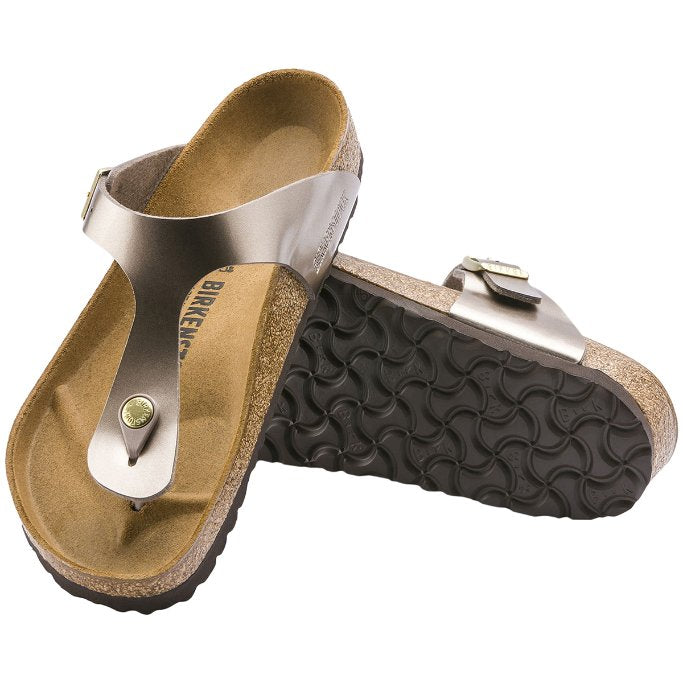Birkenstock Gizeh Electric Metallic Birko-Flor Unisex Sandals