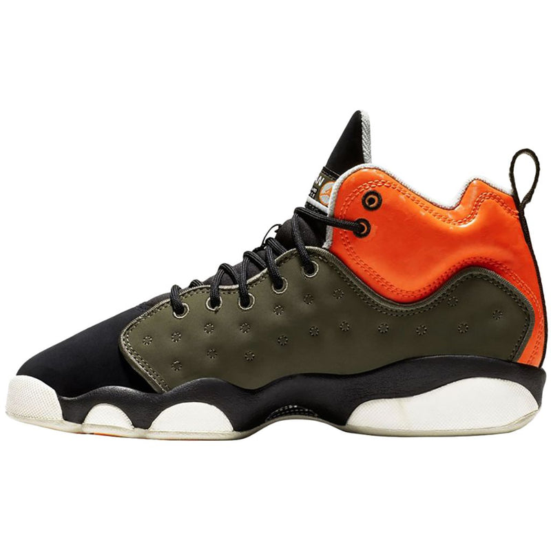Nike Jordan Jumpman Team II GS Leather Synthetic Youth Trainers