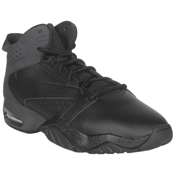 Nike Jordan Lift Off Leather Synthetic Youth Trainers#color_black anthracite