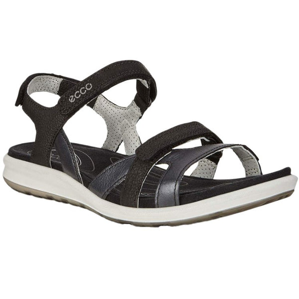 Ecco Cruise II Nubuck Womens Sandals#color_black