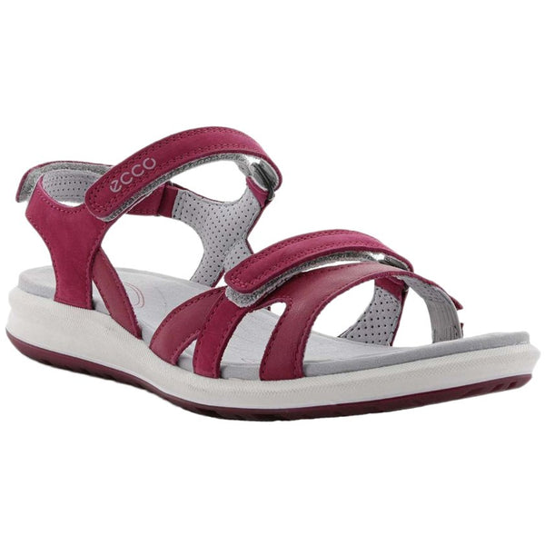 Ecco Cruise II Nubuck Womens Sandals#color_sangria