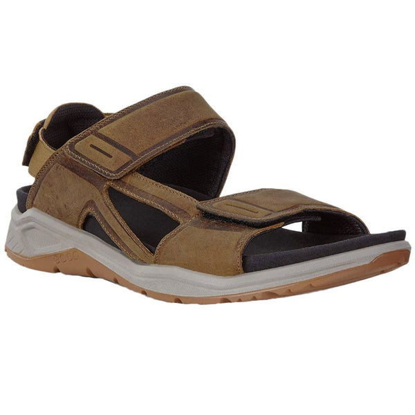 Ecco X-Trinsic Leather Mens Sandals#color_cayote