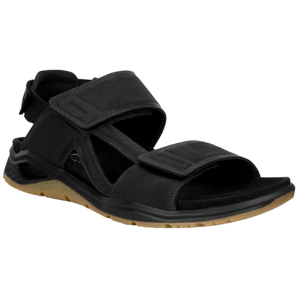 Ecco X-Trinsic Leather Mens Sandals#color_black