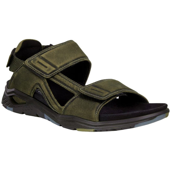 Ecco X-Trinsic Leather Mens Sandals#color_tarmac