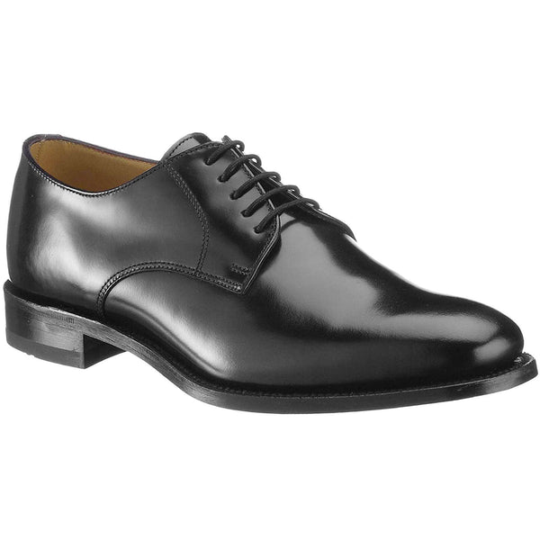 Loake 205 Leather Mens Shoes#color_black
