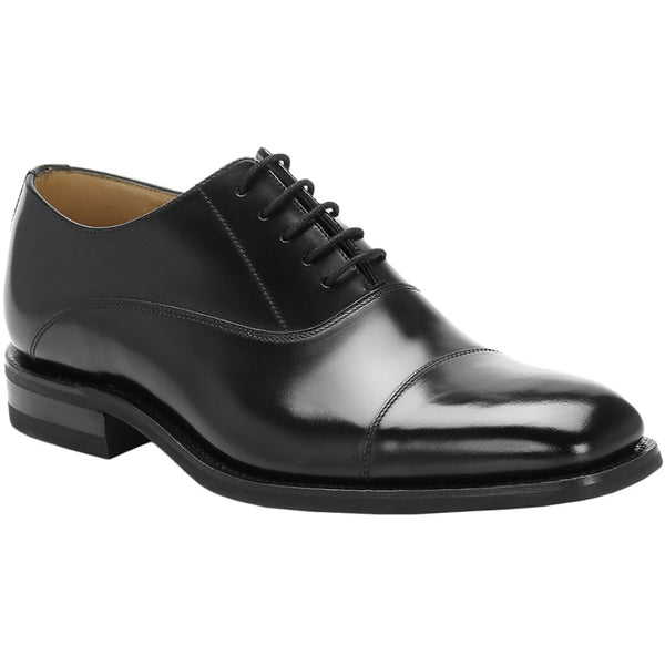 Loake 260 Leather Mens Shoes#color_black
