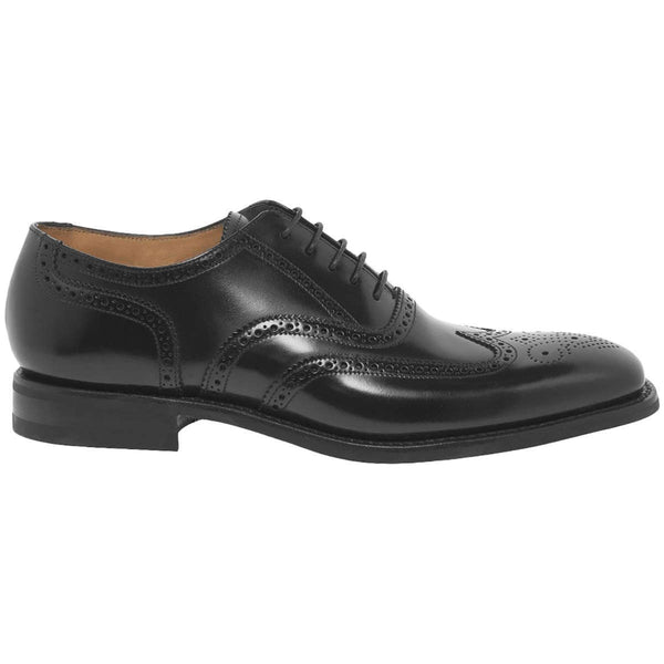 Loake 262 Leather Mens Shoes#color_black