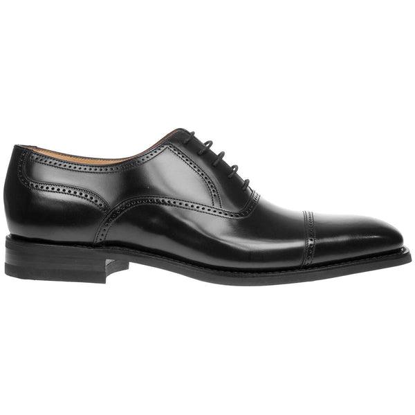 Loake 263 Leather Mens Shoes#color_black