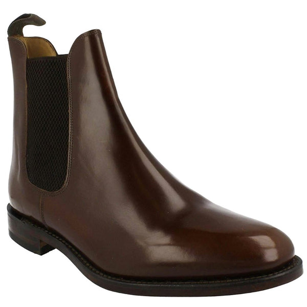 Loake 290 Leather Mens Boots#color_brown