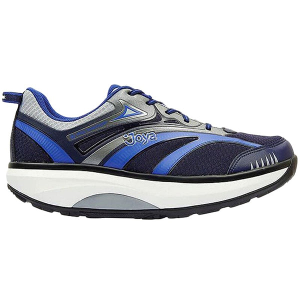 Joya ID Zack Textile Synthetic Mens Trainers#color_blue