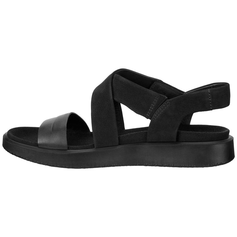 Ecco Flowt Leather Nubuck Womens Sandals