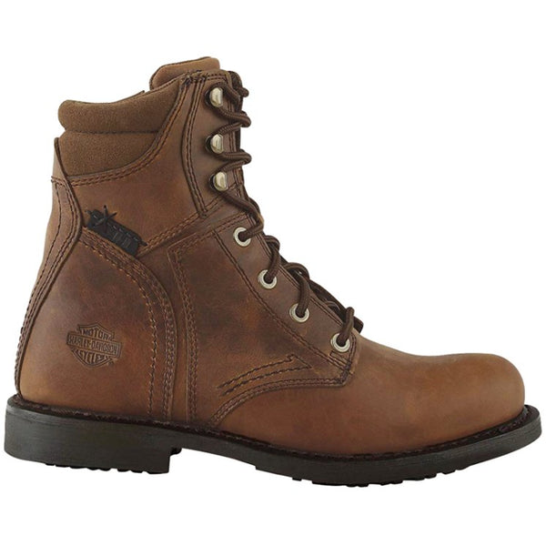 Harley Davidson Darnel Leather Mens Boots#color_brown